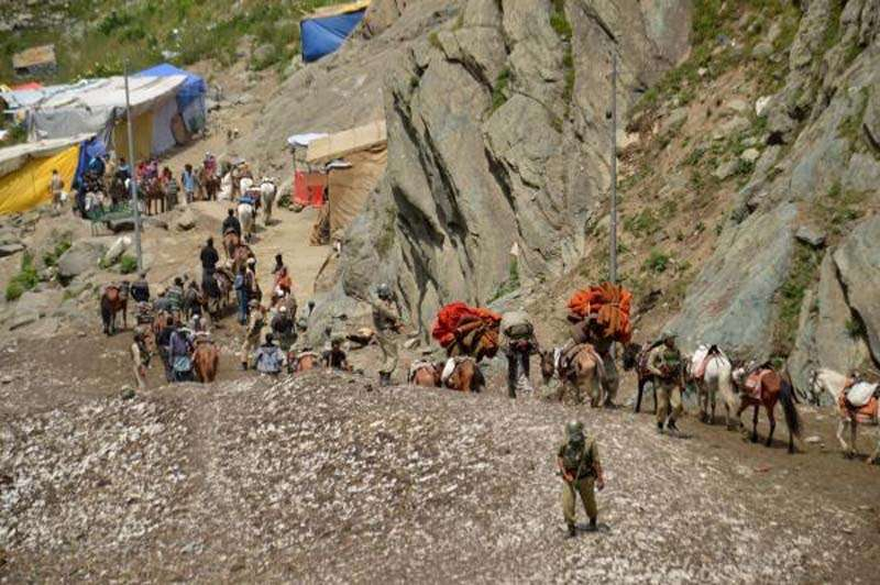 Pilgrims leave for Amarnath. (File Photo: IANS) by .