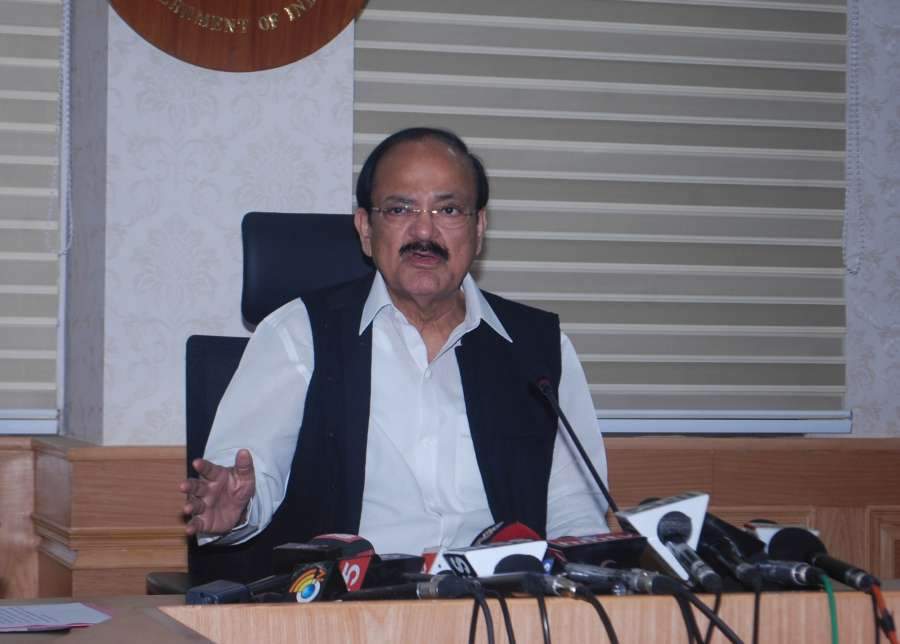 Union Minister for Urban Development, Housing and Urban Poverty Alleviation and Information and Broadcasting M. Venkaiah Naidu. (File Photo: IANS) by .