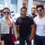 New York: Actors Varun Dhawan, Alia Bhatt and Salman Khan in New York for IIFA Awards, on July 12, 2017. (Photo: IANS) by .