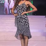 A model walks the ramp during a fashion show at a Bengaluru shopping mall, on June 23, 2017. (Photo: IANS) by .