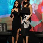 Mumbai: Actresses Anushka Sharma and Anya Singh during a YRF programme in Mumbai on July 5, 2017. (Photo: IANS) by .