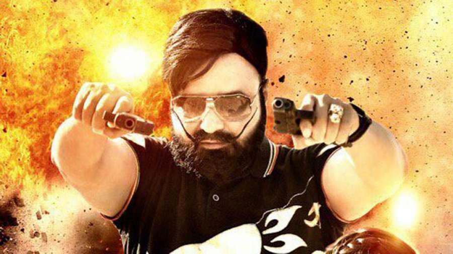Hyderabad: Actor Gurmeet Ram Rahim Singh stills of Upcoming film
