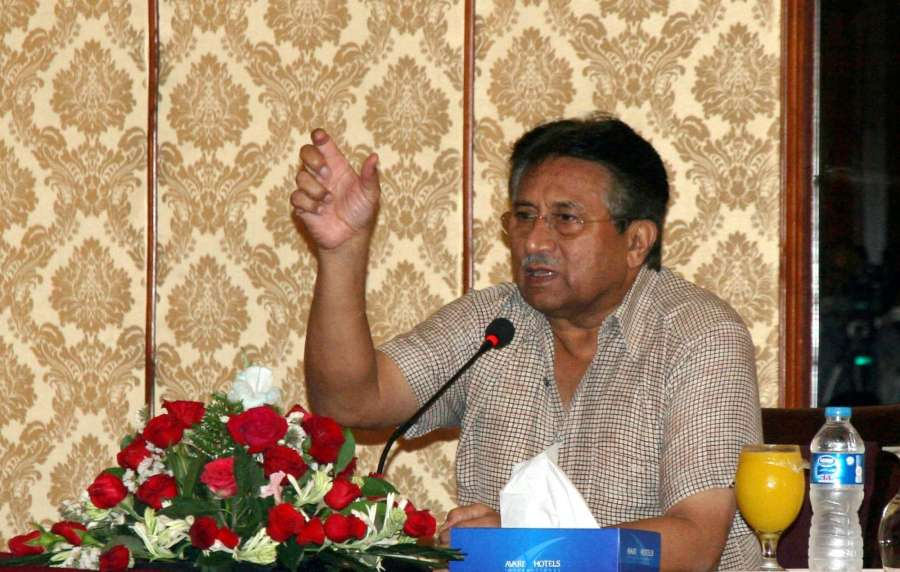 Former Pakistan's President Pervez Musharraf. (File Photo: IANS) by .