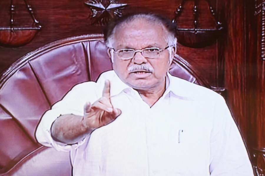 Deputy chairman of Rajya Sabha P. J. Kurien. (File Photo: IANS) by .