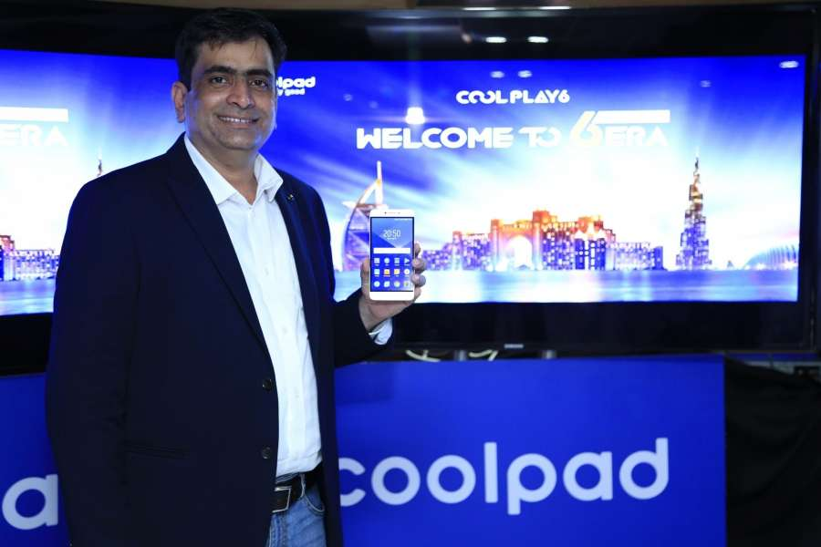 Dubai: Coolpad India CEO Syed Tajuddin during the launch of Coolpad Cool Play 6 in Dubai on Aug. 20, 2017. Cool Play 6 smartphone is powered by 1.95Ghz Octa-core Qualcomm Snapdragon 653 processor and packs 6GB of RAM, making it the most affordable smartphone with 6GB RAM in India. (Photo: Partha Mitra/IANS) by .