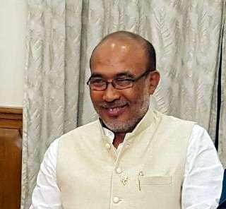 BJP leader Nongthombam Biren Singh. (File Photo: IANS) by .