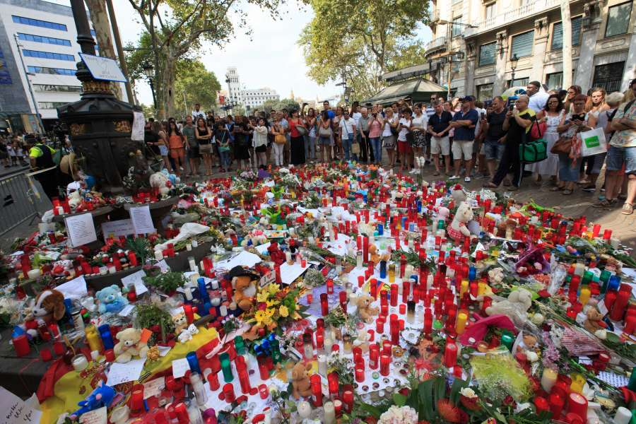 SPAIN-BARCELONA-TERRORIST ATTACK by .
