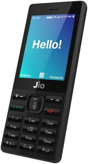 JioPhone. (File Photo: IANS/RIL) by .