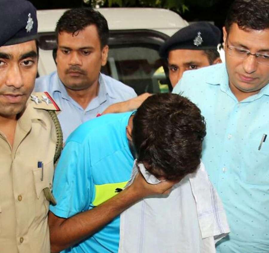 Ashish Kumar friend of Haryana BJP President Subhash Barala's son Vikas Barala. (File Photo: IANS) by .