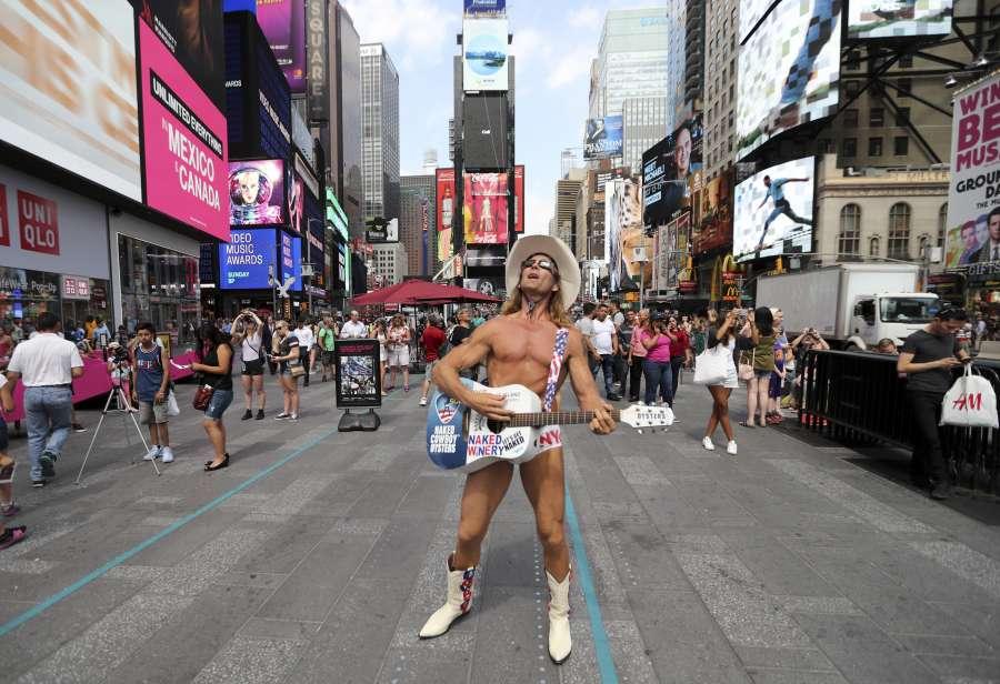U.S.-NEW YORK-SOLAR ECLIPSE by .