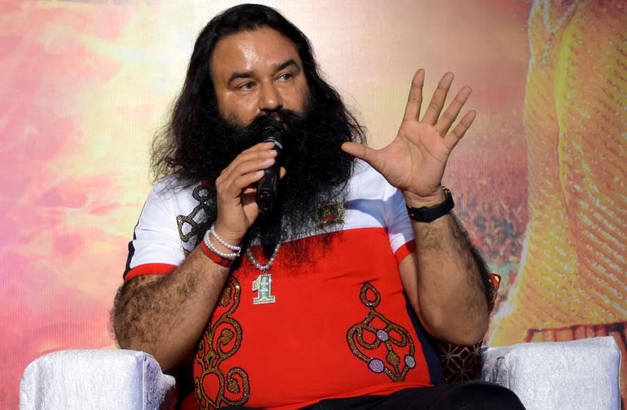 Dera Sacha Sauda chief Gurmeet Ram Rahim Singh. (File Photo: IANS) by .