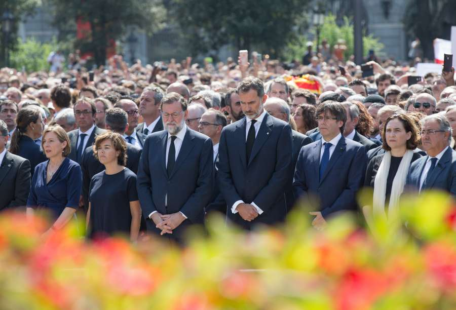 SPAIN-BARCELONA-TERROR ATTACKS-MOURNING by .