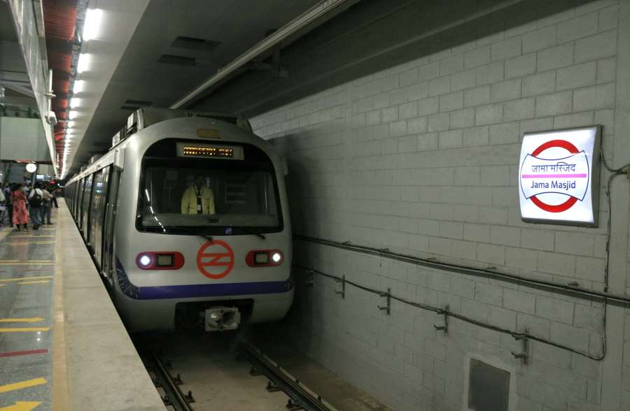 Delhi Metro. (File Photo: IANS) by .