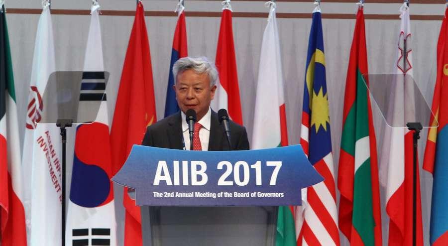 SOUTH KOREA-JEJU-AIIB-ANNUAL MEETING by .