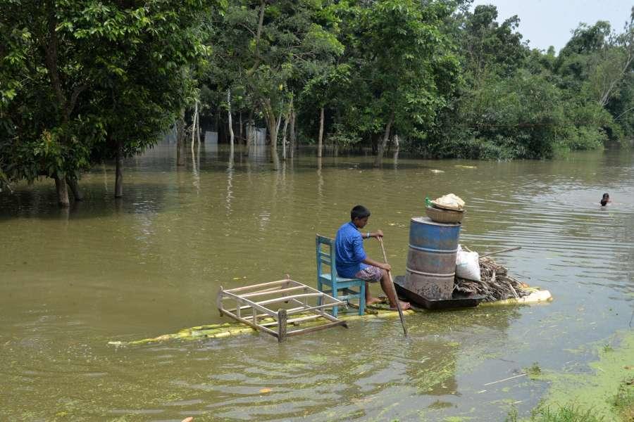 BANGLADESH-SIRAJGANJ-FLOODS by .