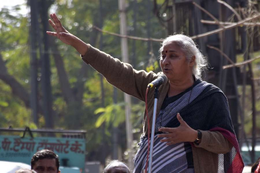 Social activist Medha Patkar. (File Photo: IANS) by .