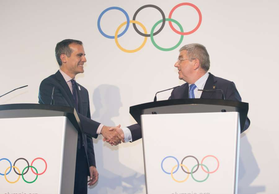 (SP)SWITZERLAND-LAUSANNE-OLYMPIC GAMES-2024 BID by .