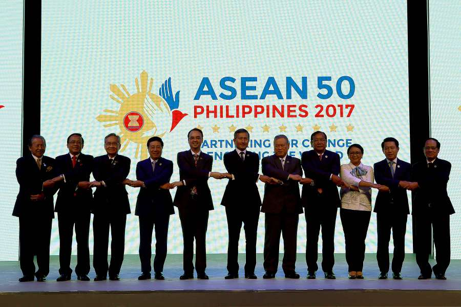 PHILIPPINES-MANILA-ASEAN-FOREIGN MINISTER-MEETING-OPENING by .