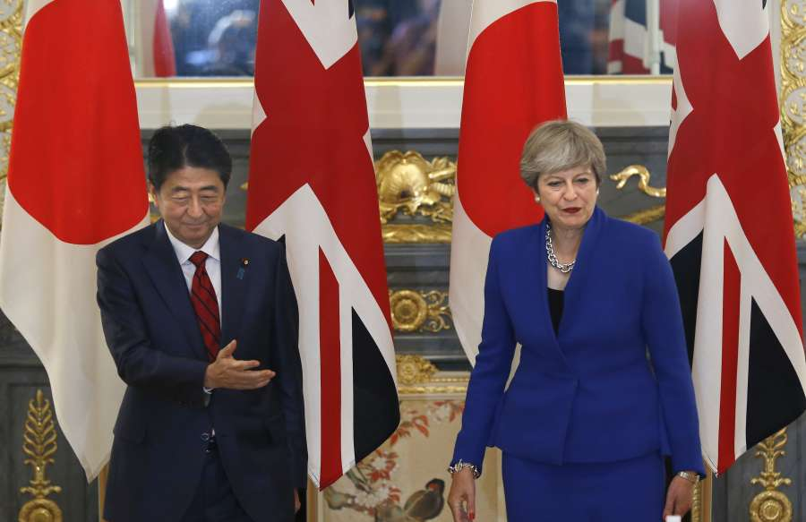 JAPAN-TOKYO-BRITAIN-DIPLOMACY by .