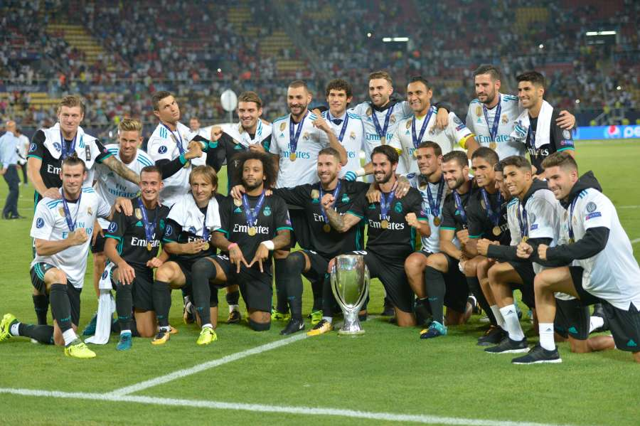 (SP)MACEDONIA-SKOPJE-UEFA SUPER CUP-REAL MADRID VS MANCHESTER UNITED by .