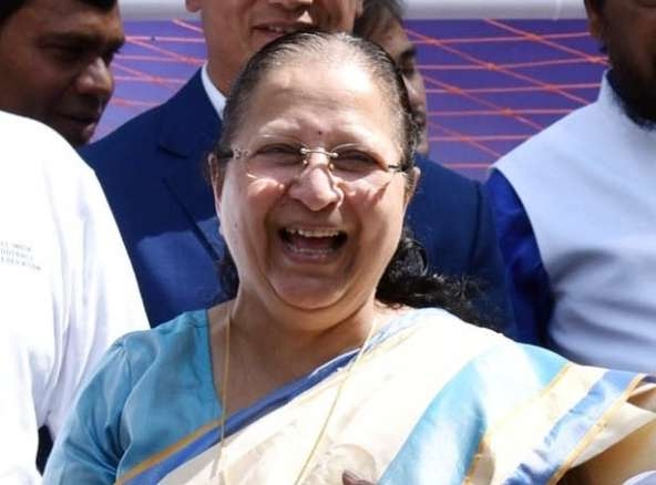 Lok Sabha Speaker Sumitra Mahajan. (File Photo: IANS) by .
