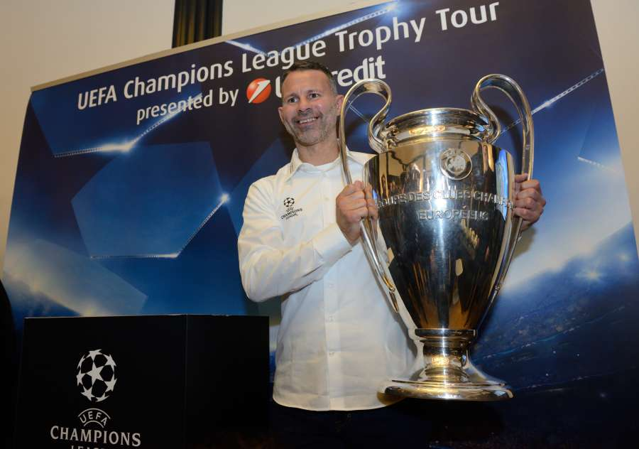 (SP)CROATIA-ZAGREB-UEFA CHAMPIONS LEAGUE TROPHY TOUR by .