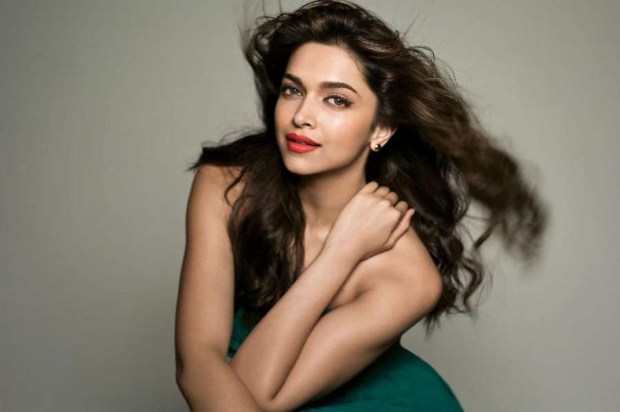 Actor Deepika Padukone during the photo shoots in Mumbai on Aug 27, 2014. (Photo: IANS) by .