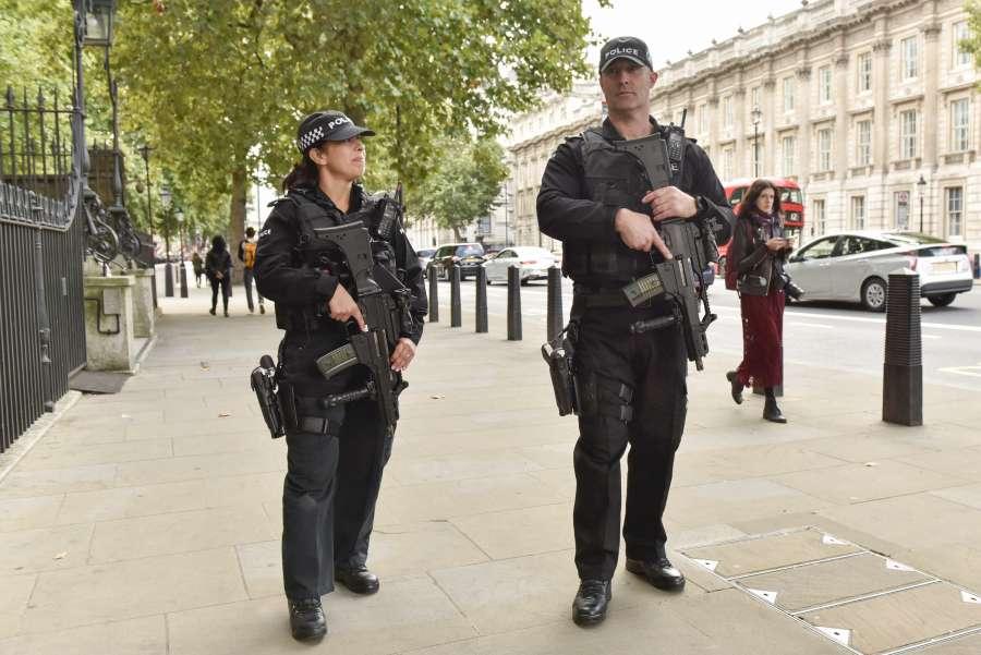 BRITAIN-LONDON-TERROR THREAT-LEVEL by .