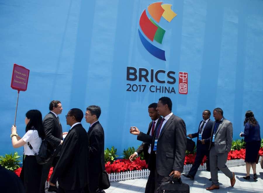 (XIAMEN SUMMIT)CHINA-XIAMEN-BRICS (CN) by .