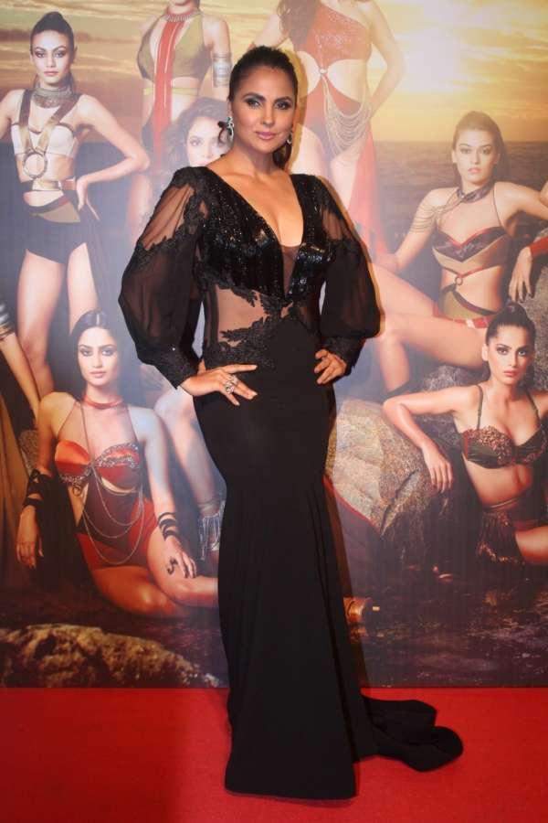 "Mumbai: Actress Lara Dutta at the star studded red carpet of ""Miss Diva 2017"" in Mumbai on Sept 18, 2017. (Photo: IANS) by ."