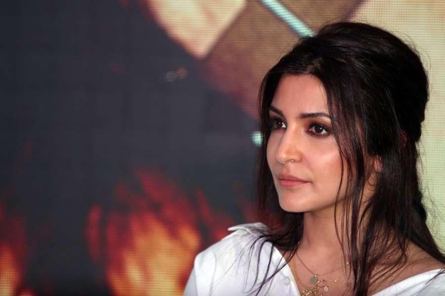 Mumbai: Actress Anushka Sharma during a programme organised to launch