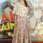 """Mumbai: Actress Tabu during the trailer launch of her upcoming film """"Golmaal Again"""" in Mumbai on Sept 22, 2017. (Photo: IANS) by ."""