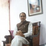 New Delhi: Madhya Pradesh Chief Minister Shivraj Singh Chouhan during an interview with IANS in New Delhi on Sept. 9, 2017. (Photo: Bidesh Manna/IANS) by .