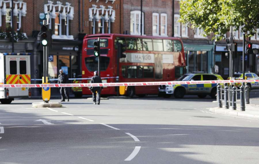 BRITAIN-LONDON-TERRORIST INCIDENT by .