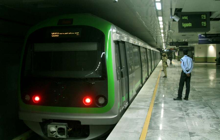 Bangalore Metro. (File Photo: IANS) by .