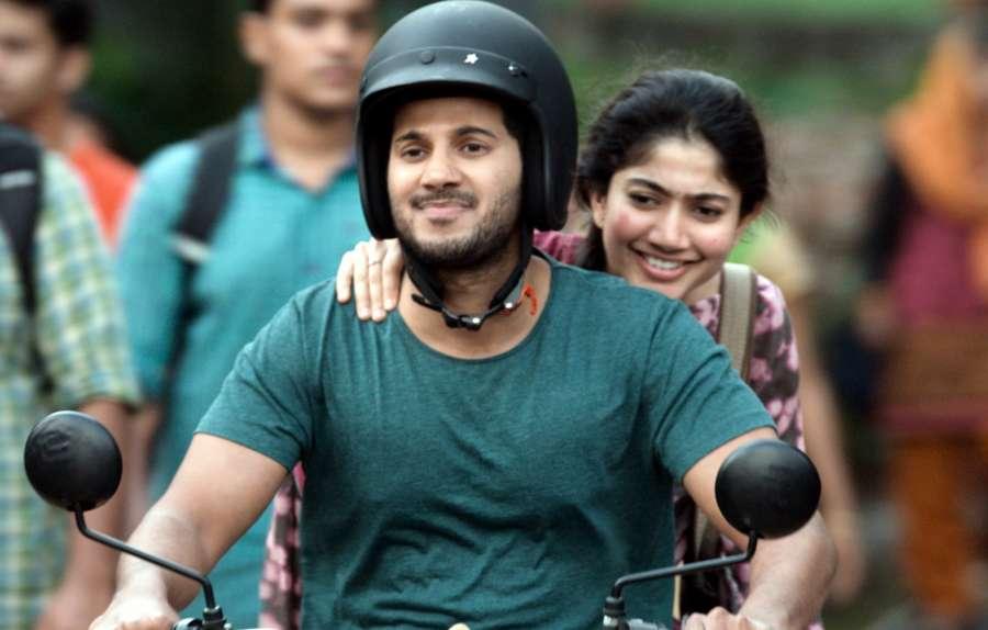 "Hyderabad: Actors Dulquer Salmaan and Sai Pallavi stills from Telugu film ""Kali"" in Hyderabad. (Photo: IANS) by ."