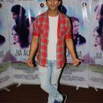 "Mumbai: Actor Arslan Goni during the promotiona of his upcoming film ""Jia Aur Jia"" in Mumbai on Oct 12, 2017.(Photo: IANS) by ."