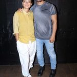 "Mumbai: Actor Aamir Khan along with his wife Kiran Rao during the special screening of upcoming film ""Secret Superstar"" in Mumbai on Oct 17, 2017. (Photo: IANS) by ."