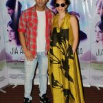 "Mumbai: Actors Kalki Koechlin and Arslan Goni during the promotion of their upcoming film ""Jia Aur Jia"" in Mumbai on Oct 12, 2017.(Photo: IANS) by ."
