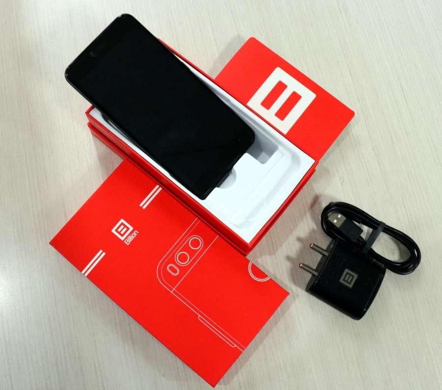 """Billion Capture+"" smartphone from the e-commerce site Flipkart. (File Photo: IANS) by ."