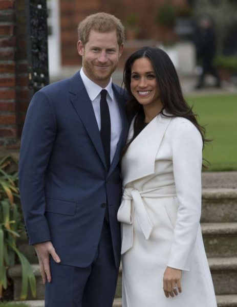 BRITAIN-LONDON-ROYAL-PRINCE HARRY-ENGAGEMENT by .