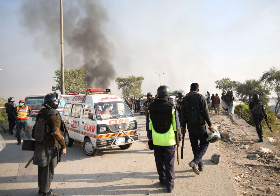 PAKISTAN-ISLAMABAD-PROTEST by .