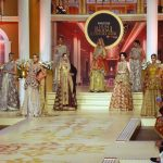 LAHORE, Dec. 11, 2017 (Xinhua) -- Models present creations by designer Uzma Babar on the last day of Bridal Couture Week in eastern Pakistan's Lahore on Dec. 10, 2017. (Xinhua/Jamil Ahmed/IANS) by .