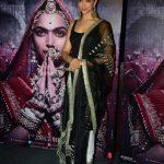 "Mumbai: Actress Deepika Padukone during the 3D trailer launch of her upcoming film ""Padmavati"" in Mumbai on Oct 31, 2017.(Photo: IANS) by ."