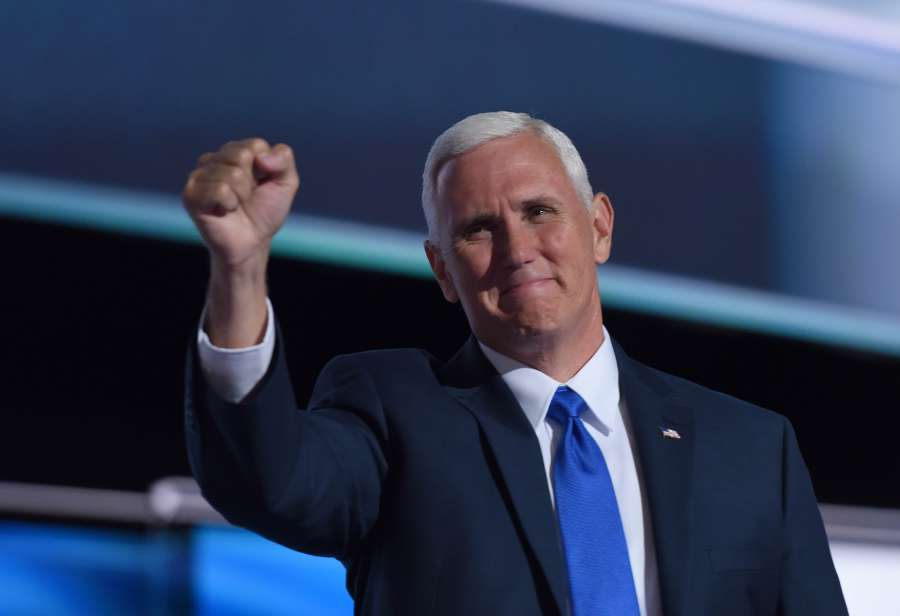 U.S.-PRESIDENTIAL ELECTIONS-VICE PRESIDENT-ELECT-MIKE PENCE-FILE by .