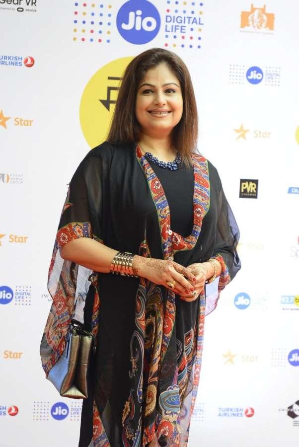 Mumbai: Actress Ayesha Jhulka.