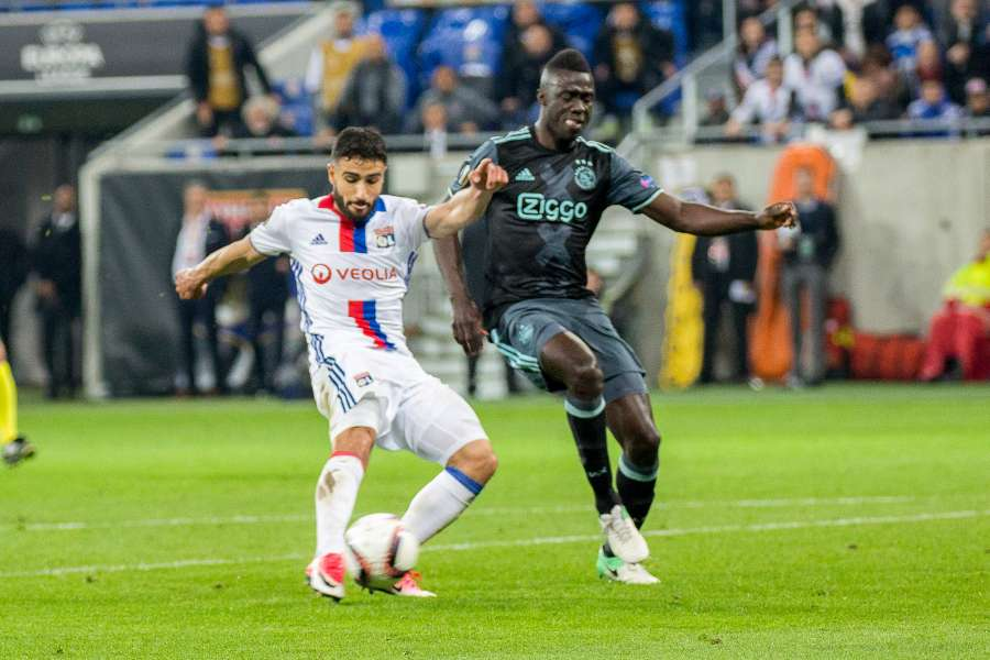 (SP)FRANCE-LYON-FOOTBALL-EUROPA LEAGUE-SEMIFINAL-LYON VS AJAX by .