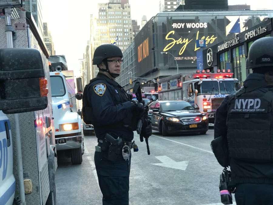 U.S.-NEW YORK-BLAST by .