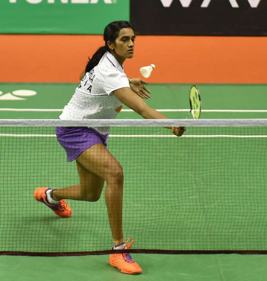 India shuttler PV Sindhu. (File Photo: IANS) by .
