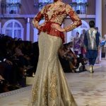 LAHORE, Dec. 11, 2017 (Xinhua) -- A model presents a creation by designer Uzma Babar on the last day of Bridal Couture Week in eastern Pakistan's Lahore on Dec. 10, 2017. (Xinhua/Jamil Ahmed/IANS) by .